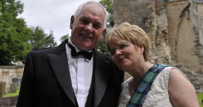 Joan and John wedding, Burghead,July2012.
